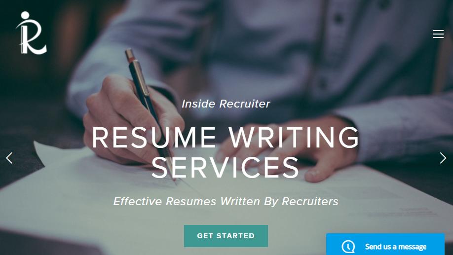 Inside Recruiter Homepage